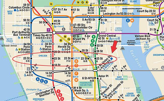 Metro 23 street