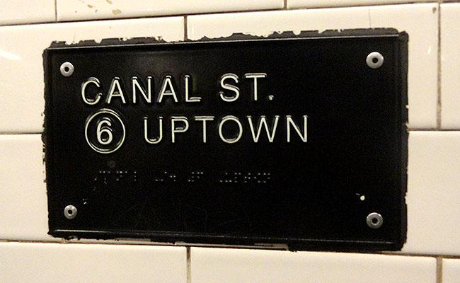 Metro de Nova York como circular pela cidade