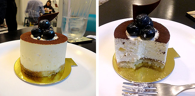 Paris Cake House Tiramisu Mirtilo