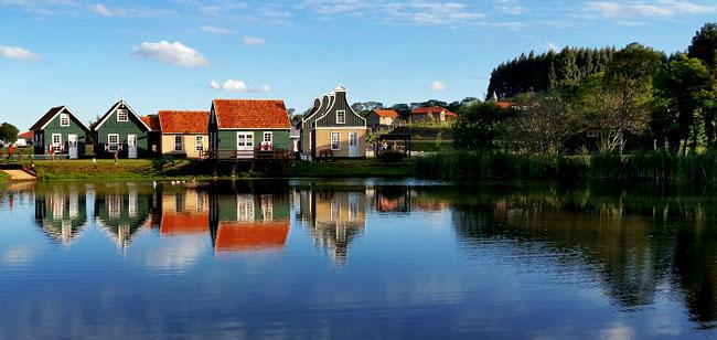 Parque Historico de Carambei Arquitetura Holandesa