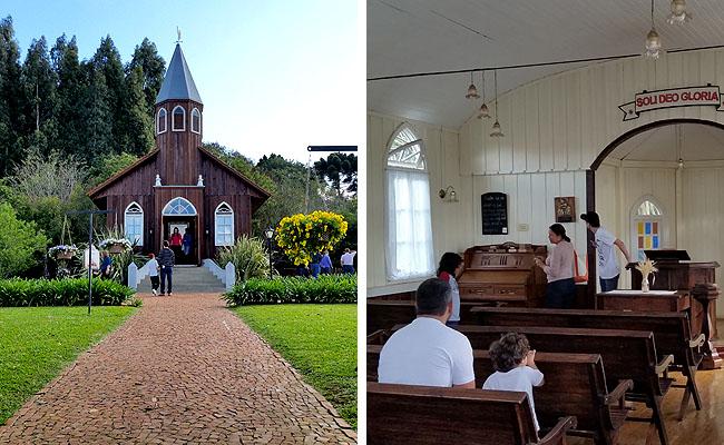 Parque Historico de Carambei Igreja