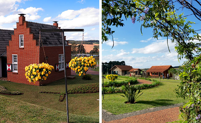 Parque Historico de Carambei arquitetura
