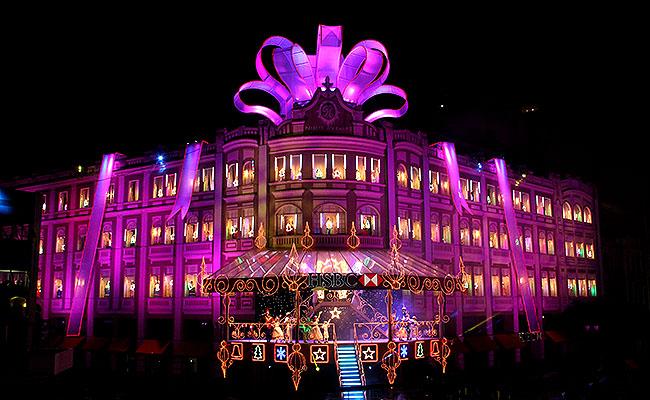 Natal Palacio Avenida Curitiba Cores