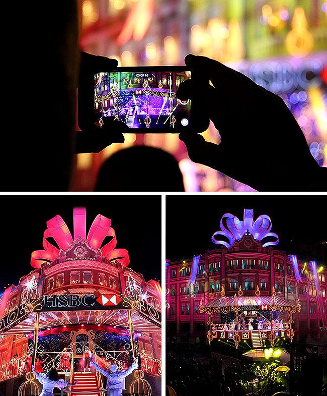Natal Palacio Avenida Curitiba Show de Luzes