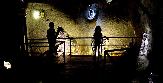A Mina de Gramado - tunel