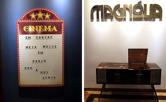 Restaurante Magnolia Canela Cine Restro bar
