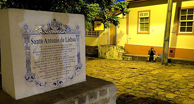 Santo Antonio de Lisboa Floripa Placa