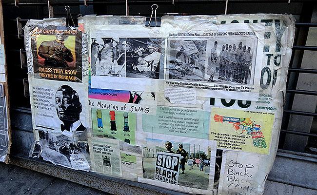 Harlem protesto