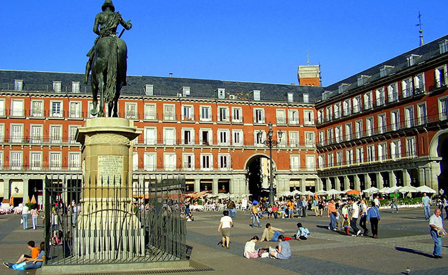 Madri plaza mayor