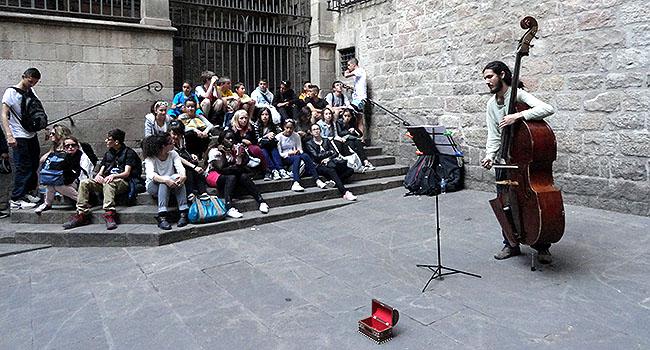 Bairro Gotico Musicos