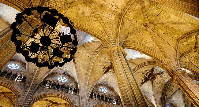 Bairro Gotico catedral interior