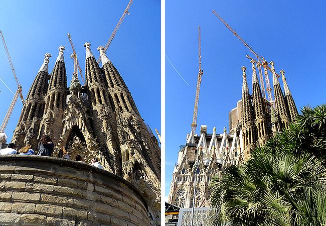 Eixample Sagrada Familia Barcelona