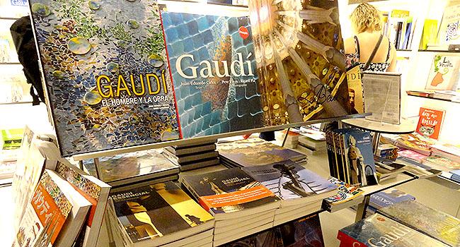 Eixample livros sobre Gaudi