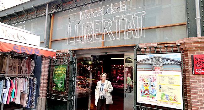 Gracia Mercat de la Libertad Barcelona