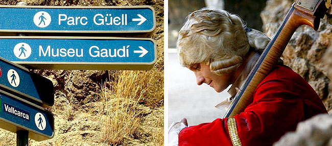 Gracia Park Guell Gaudi
