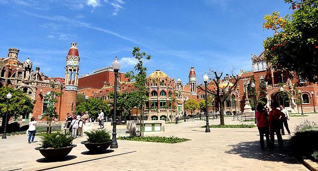 Hospital-Saint-Pau-Barcelona-Arquitetura-Modernista