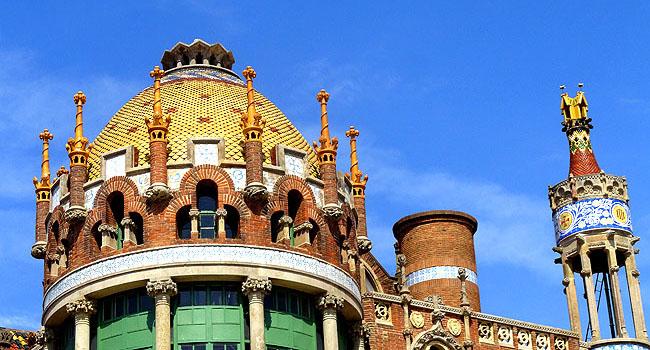Hospital-Saint-Pau-Barcelona-Detalhes-teto