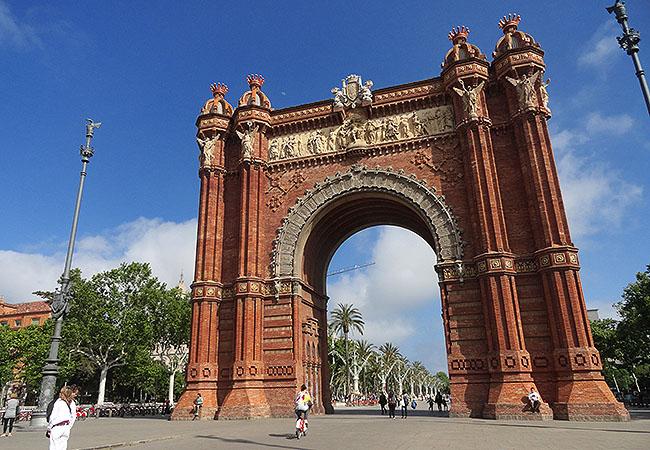La Ribera Arco do Triunfo Barcelona