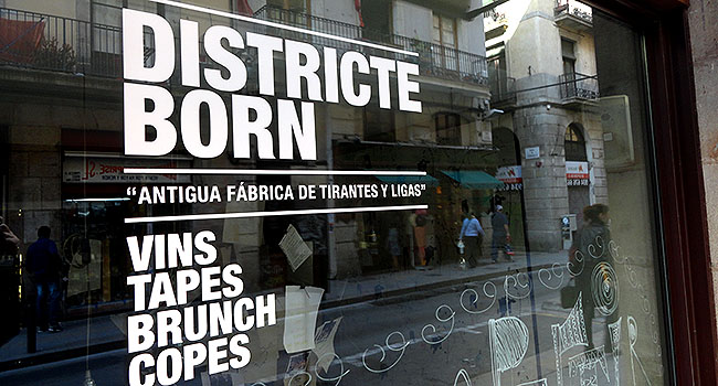 La Ribera El Born District