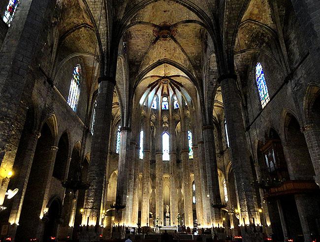 La Ribera Igreja Santa Maria del Mar
