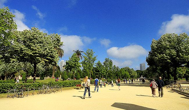 La Ribera Par de la Ciutadella
