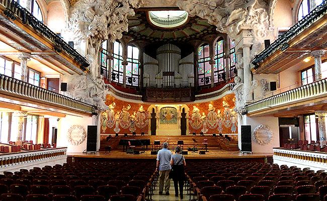 Palau Musica Catalana  salao