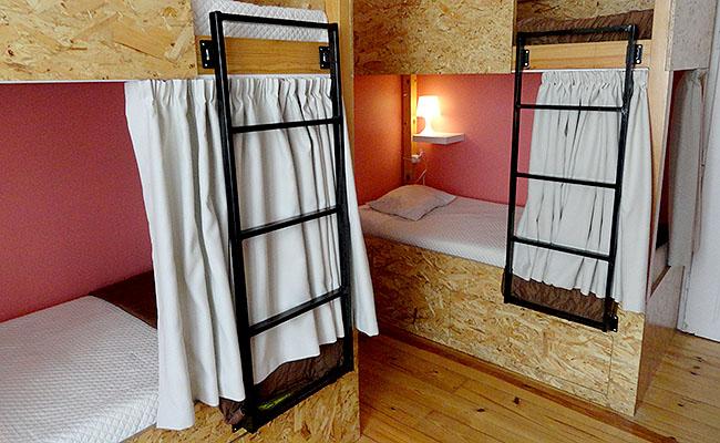 Passporte Lisbon Hostel quarto coletivo