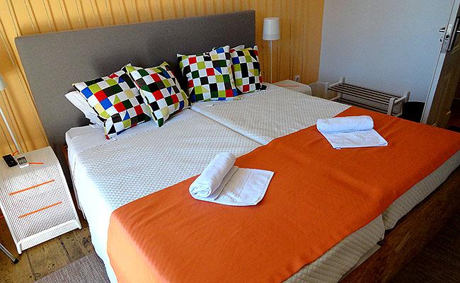 Passporte Lisbon Hostel quarto duplo