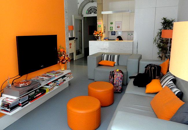Porto Lounge Hostel entrada 1