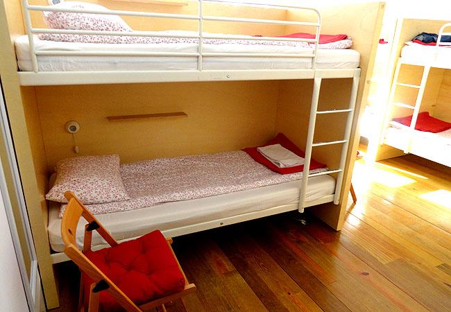 Porto Lounge Hostel quarto