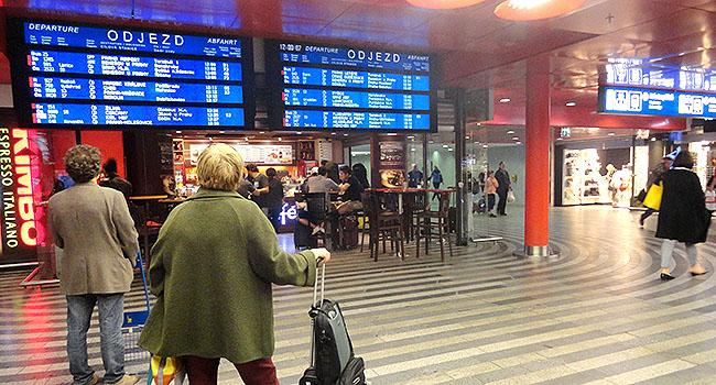 Praga Estacao de Trem