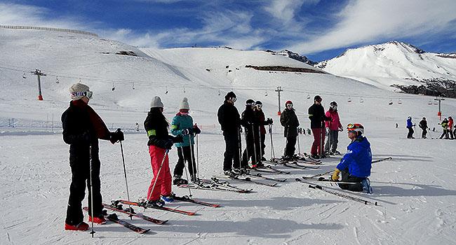 Valle Nevado Santiago Chile Aula de Esqui