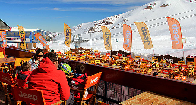 Valle Nevado Santiago Chile Lanchonete