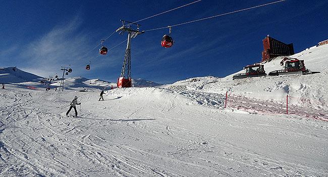 Valle Nevado Santiago Chile Pistas de Esqui