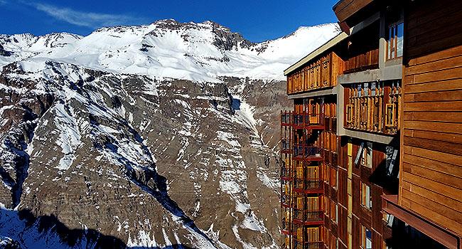 Valle Nevado Santiago Chile Puerta del Sol
