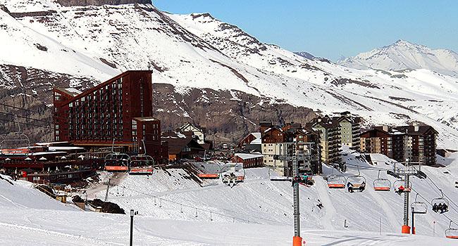 Valle Nevado Santiago Chile complexo