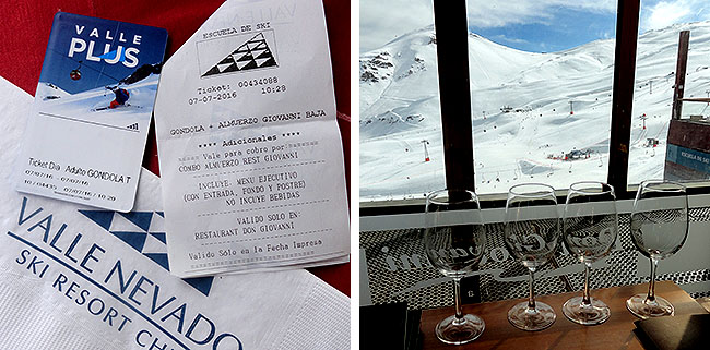 Valle Nevado Santiago Restaurante Don Giovanni