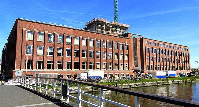 ClinkNOORD Hostel Amsterdam building