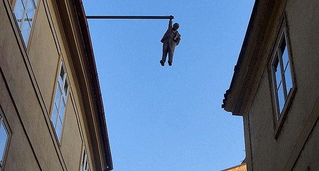 Praga Escultura David Cerny