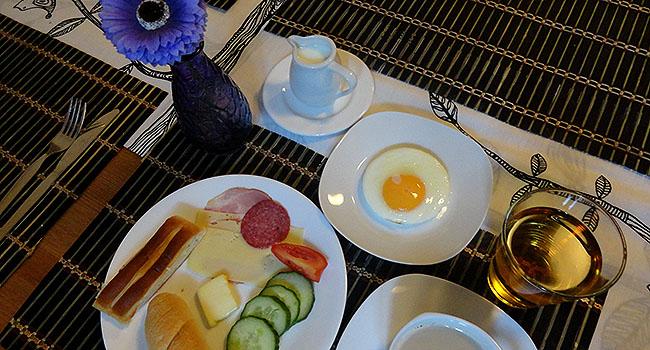 Praga Hostel cafe da Manha