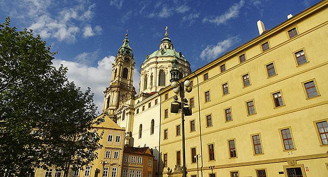 Praga Igreja So Nicolas