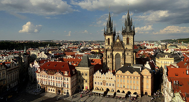 Praga Igreja de Tyn