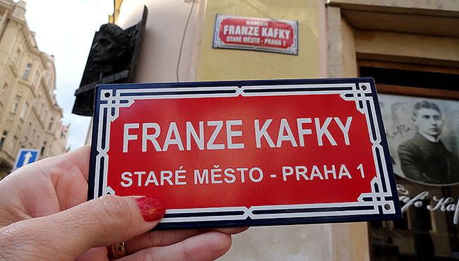 Praga Ima de geladeira de plaquinhas de rua