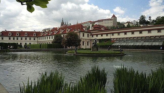 Praga Jardins do Wallenstein Palace