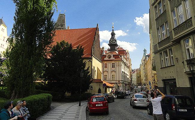 Praga Josefov Bairro Judeu