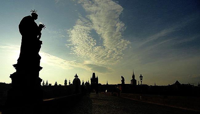 Praga Ponte Carlos Karluv most Charles Bridge