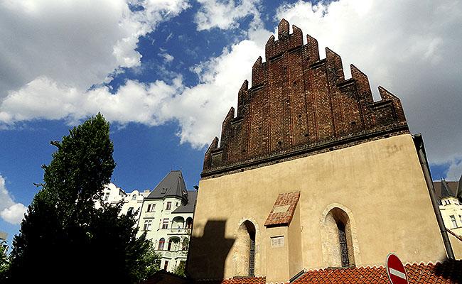 Praga Sinagoga Velha-Nova