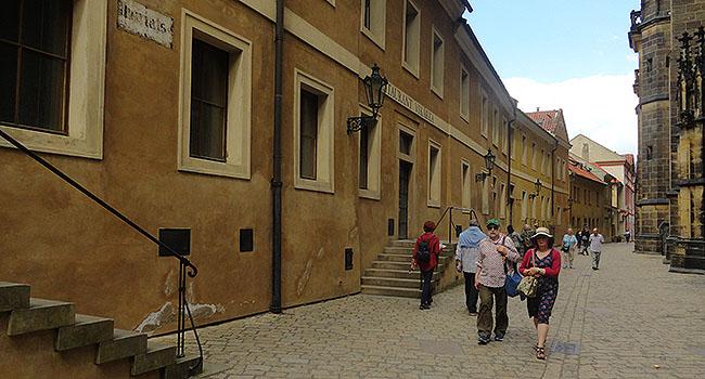 Praga castelo de praga