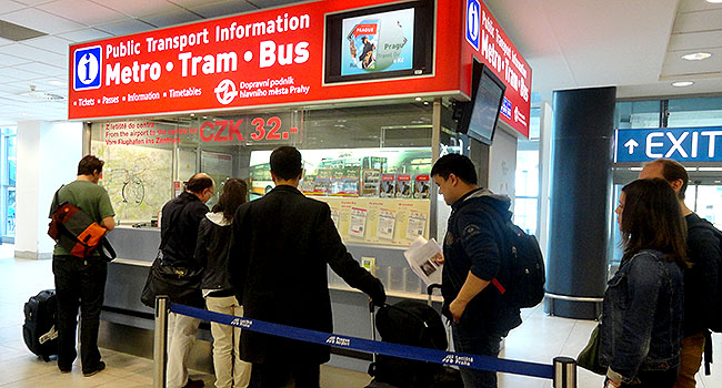 Praga tickets transporte