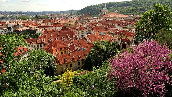 Praga vista geral